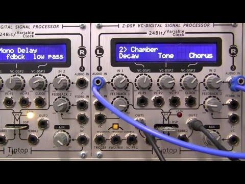 Tiptop Audio Z-DSP VC Digital Signal Processor   Synthtopia