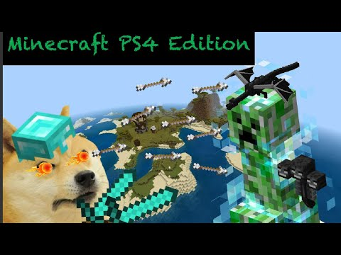 New Donator Wall in Minecraft PS4 Ep.28