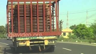 National Highway to Rajkot, Gujarat