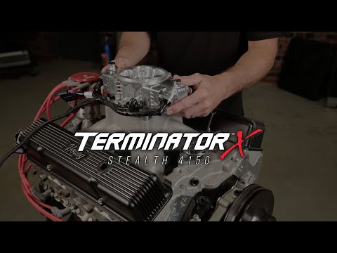 Terminator X Stealth 4150 Throttle Body EFI system