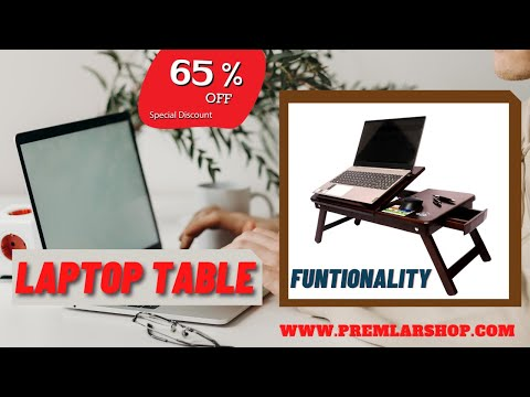Multipurpose Wooden Laptop Table