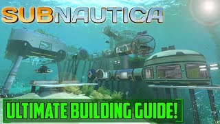 Subnautica IS FINALLY RELEASED!!  Ultimate Building Guide!