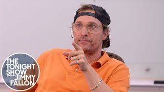 Jimmy Gets a Private Lesson from Professor Matthew McConaughey at UT Austin