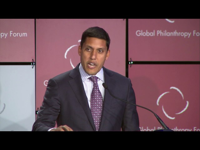 Special Address: Rajiv Shah, President, Rockefeller Foundation