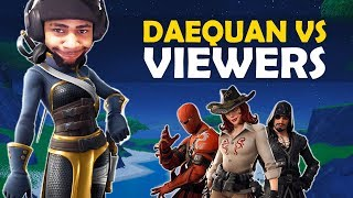 DAEQUAN PLAYS AGAINST HIS VIEWERS!