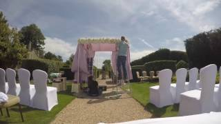Blomster Designs Dress A Chuppah For An Outdoor Wedding At Four Seasons Hotel