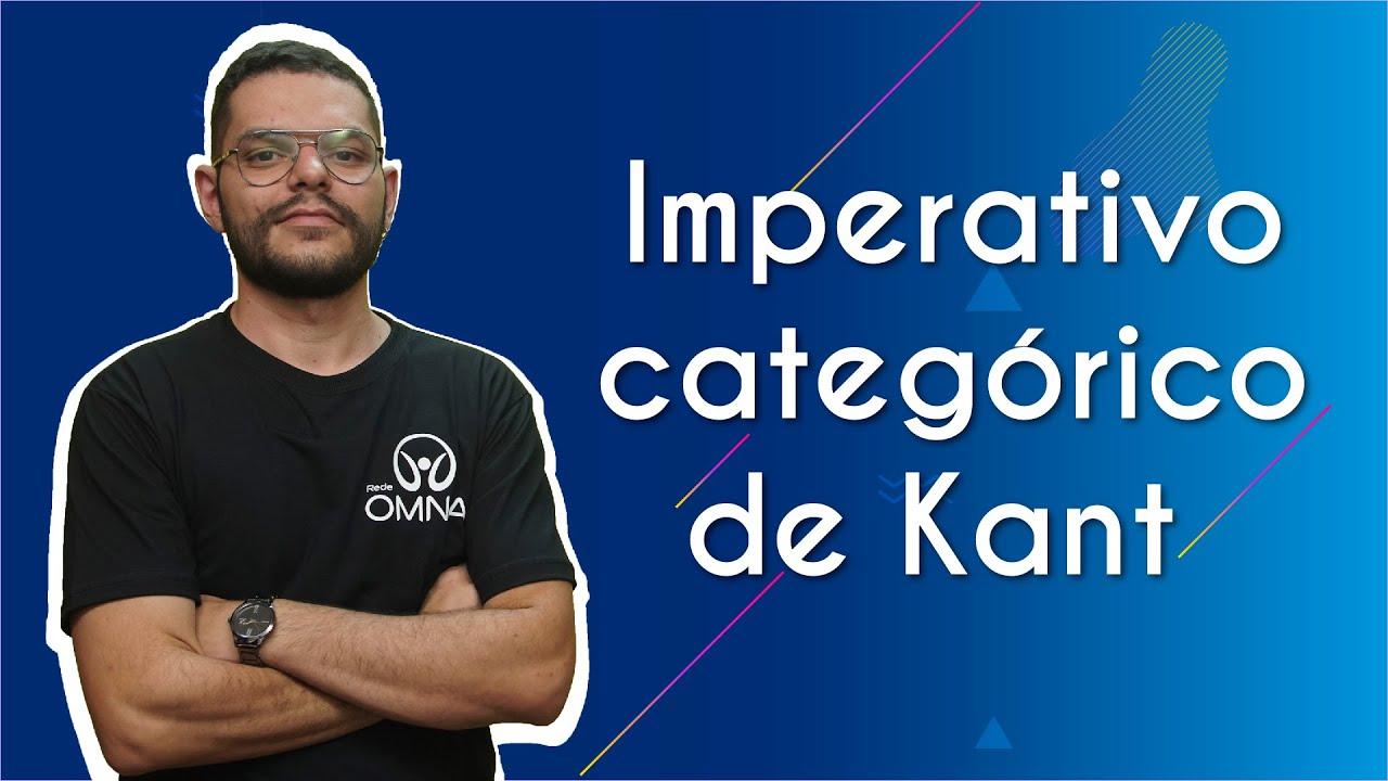 Imperativo categórico de Kant