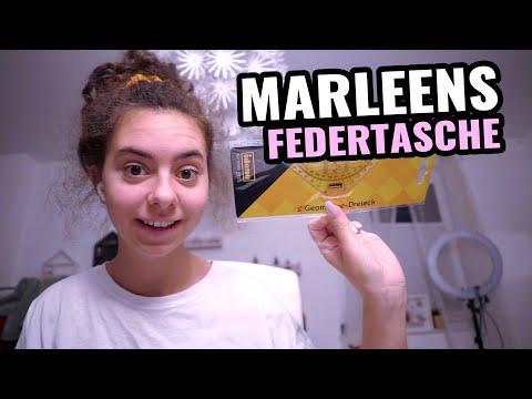 Marleen zeigt ihre Federtasche / Kinder bekommen Ärger / Familien Vlog Deutsch / 19.11.19