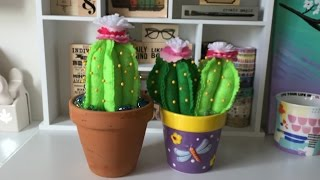 🌵DIY Cactus Pincushion Tutorial🌵