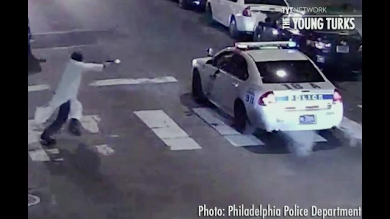 Gunman Ambushes Parked Police Officer thumbnail