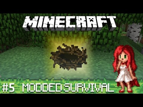 Scavenging and Surprises - Modded Minecraft Ep 5]