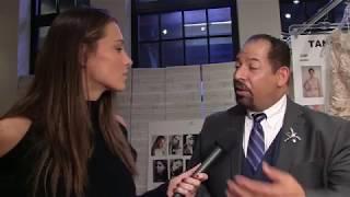 Designer Lazaro talks to Amanda Salvato about his new collection.