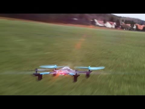 Some Fun & Stunts with the Revell Rayvore Quadcopter