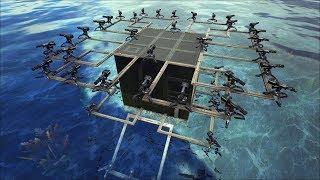 Ark Turret Boat & Dino Barge