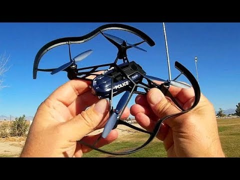 Parrot Minidrone Airborne Night Maclane Flight Test Review