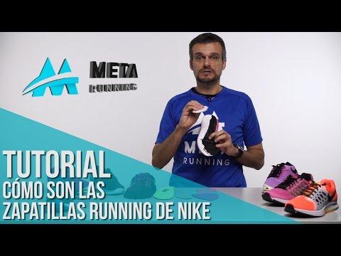 Tutorial: cómo son las zapatillas de running Nike por dentro
