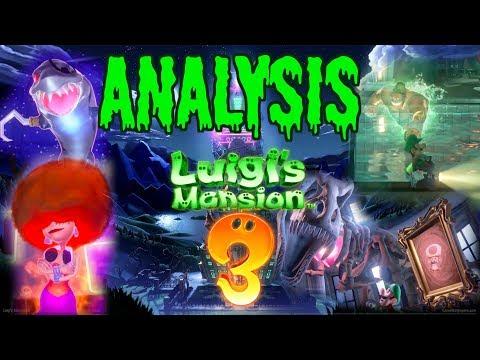 Luigi's Mansion 3 (TRAILER ANALYSIS #3) - ZakPak