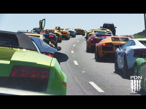 Lamborghini Club Cruise