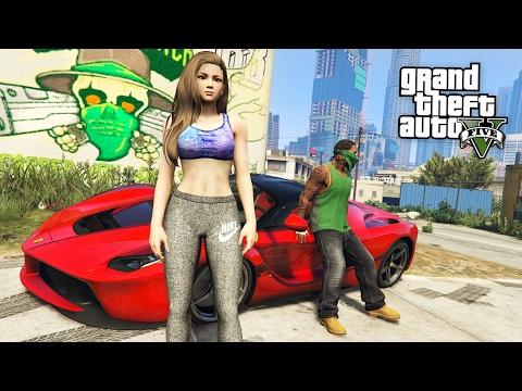 Grand Theft Auto V Walkthrough - GTA 5 Mods - PLAY AS A COP MOD #10