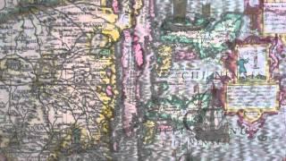 The Map House of London. Mercator-Hondius Map of China - 1619.