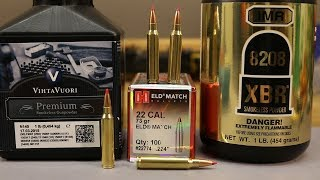 .223 Rem - Hornady 73gr ELD - N140 and 8208 XBR