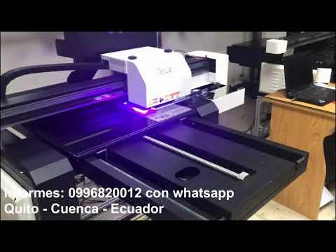 Plotter Impresión UV Cama Plana