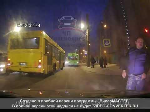Киренского - Советская 03.12.2018 ЧП Красноярск