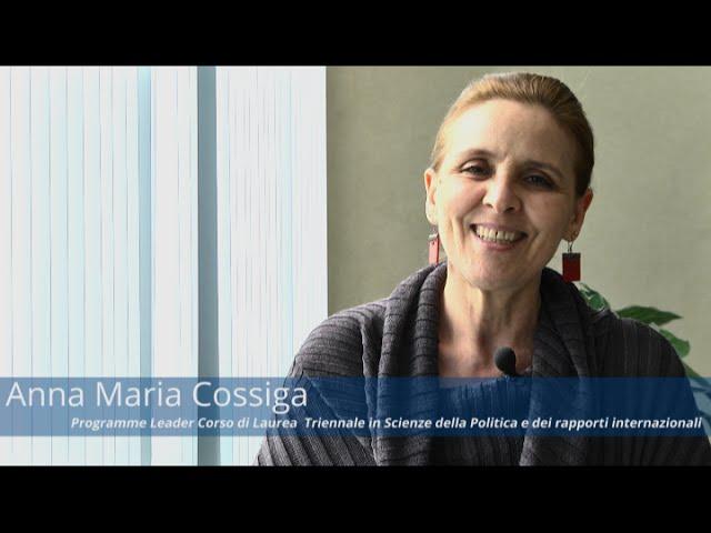Anna Maria Cossiga - Programme Leader del Corso di Laurea