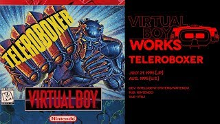 Teleroboxer retrospective: Eyestrain of the tiger | Virtual Boy Works #03