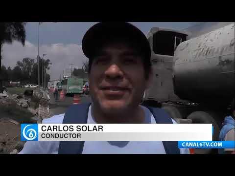 Continúan las afectaciones en la vialidad por reparaciones sobre la Calzada Ignacio Zaragoza