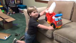 Mega Blocks First Builders Finn the Fire Truck {Product Review}