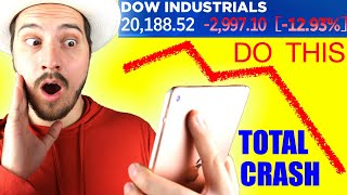 Millionaire Explains What to do in a Stock Market Crash!