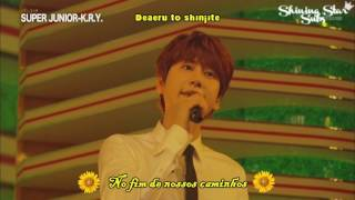 [LIVE] Super Junior K.R.Y   Himawari No Yakusoku   Legendado [PT BRROM]