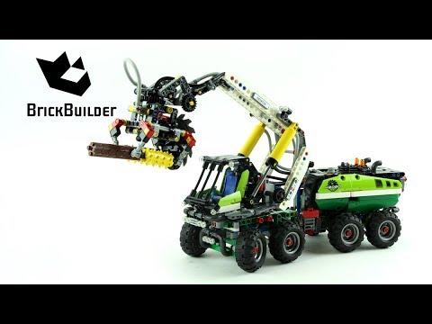 Vidéo LEGO Technic 42080 : Le camion forestier