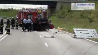 preview picture of video 'Rommerskirchen, schwerer Verkehrsunfall, B59n, am 28.08.2012'