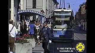 Vor 25 Jahren fuhr die Pferdetrambahn zum ersten Mal beim Stadtgründungsfest
