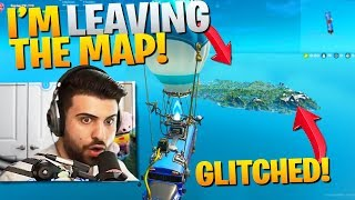 I Accidentally Joined A Glitched Game and LEFT the Map! (Fortnite Chapter 2)