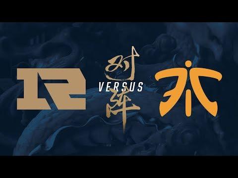 RNG vs. FNC | Quarterfinals Game 1 | 2017 World Championship | Royal Never Give Up vs Fnatic
