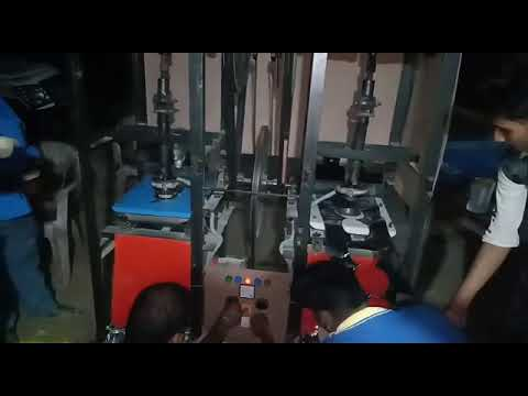 Double Die Fully Automatic Plate Making Machine