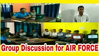 GROUP DISCUSSION for Air Force