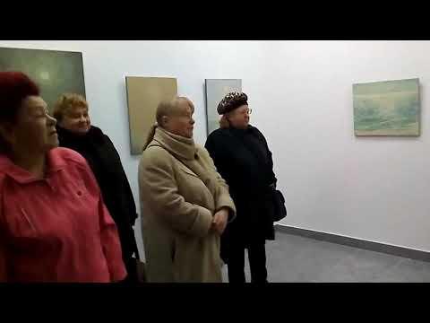 Роман Петрук розповідає про виставку | Волинські Новини - YouTube