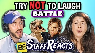 Try To Watch This Without Laughing or Grinning Battle #3 (ft. FBE Staff)