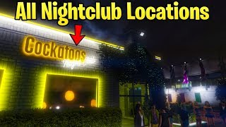 GTA Online Nightclub DLC - ALL Club Locations That We Might Own