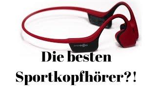 Beste Sportkopfhörer ever? AfterShokz Trekz Air Wireless - Fazit/Review/Test/deutsch