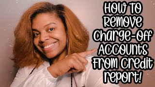 How To Remove Charge-Offs From Credit Report   2020 Credit Repair Tips   LifeWithMC