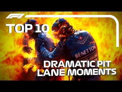 Image: Watch: Top 10 Pit Lane Dramas!