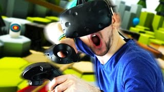 A REAL BOW AND ARROW!   The Lab #1 (HTC Vive Virtual Reality)