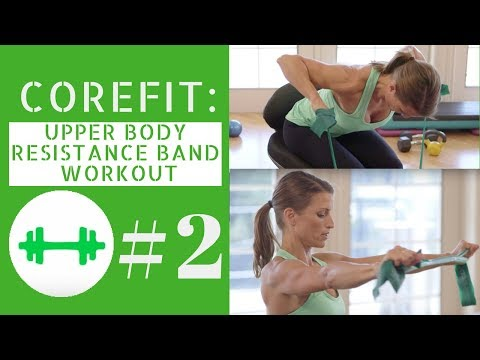 Resistance Band Upper Body Workout #2