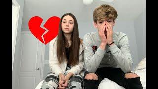 we broke up...