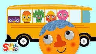 The Wheels On The Bus (2019) | Nursery Rhymes | Super Simple Songs